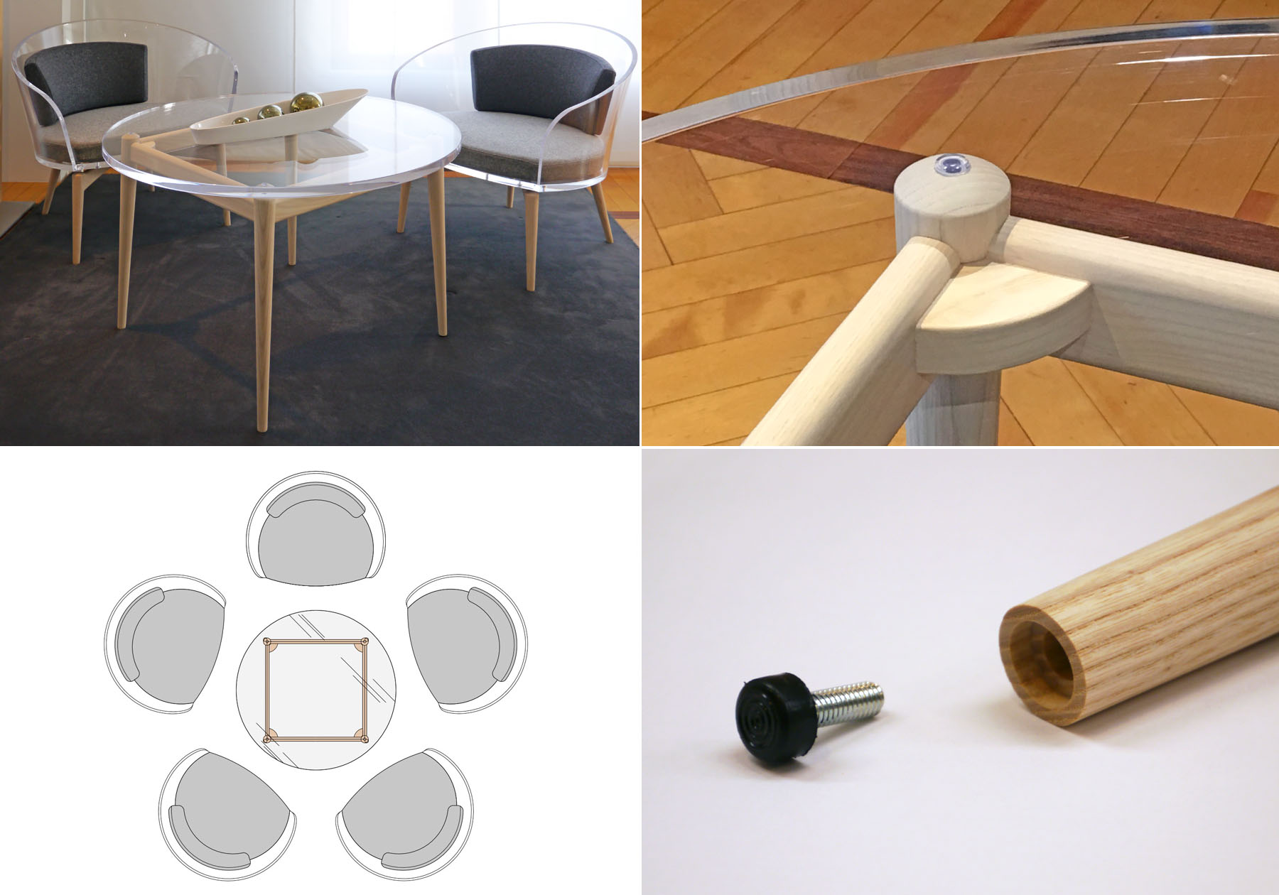 PRODUCT : PLUM CORE [プラム コア] Center Table